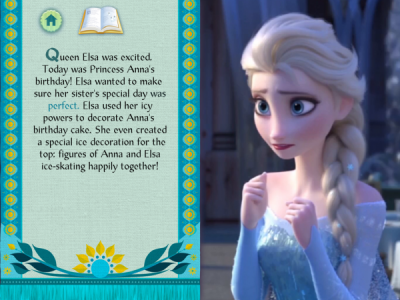 Frozen Fever from Frozen Storybook Deluxe