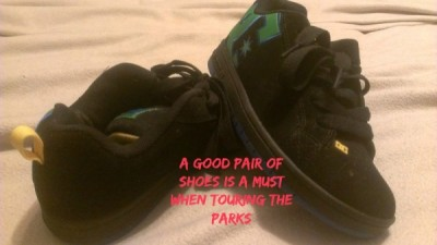 Good shoes in the parks