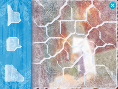 Ice Puzzle from Frozen Storybook Deluxe