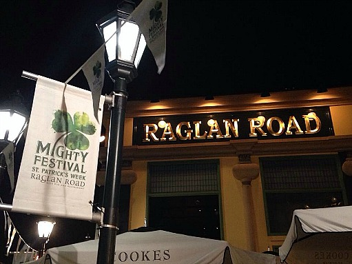 Downtown Disney's Raglan Road