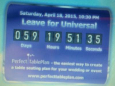 Universal countdown