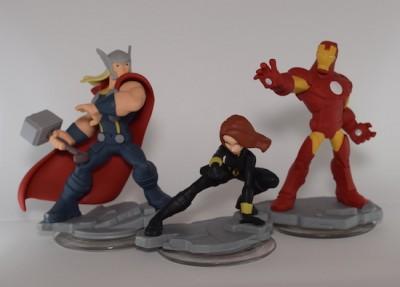 tim disney infinity 2 avengers figures