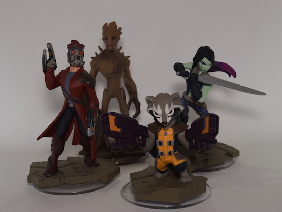tim disney infinity 2 guardians figures
