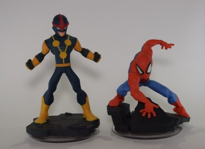 tim disney infinity 2 spiderman figures