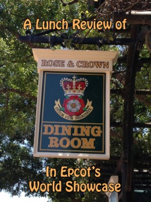 A Lunch Review of Rose and Crown at Epcot