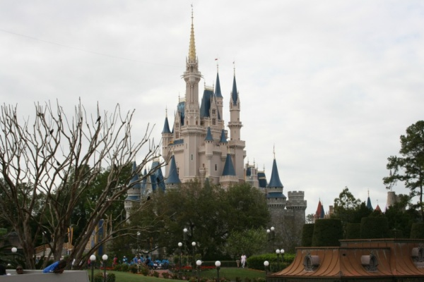 View from Tomorrowland Terrace at the Magic Kingdom