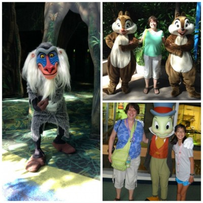Conservation Station Characters