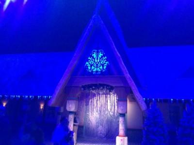 It's winter in Arendelle!