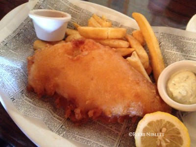 Rose and Crown Fish and Chips