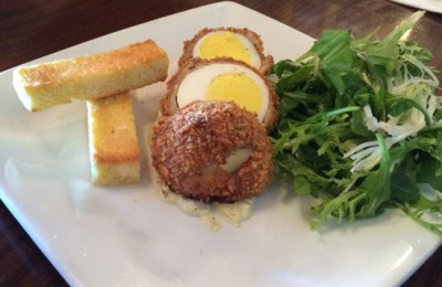 Rose and Crown Scotch Egg