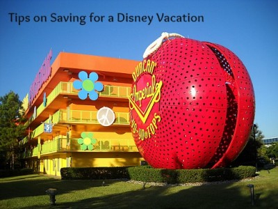 Savingfor a Disney Vacation