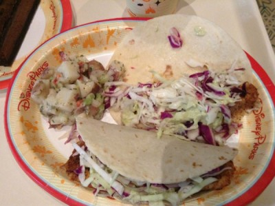 Sunshine Seasons Fish Tacos