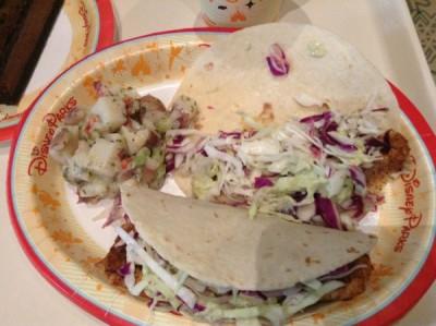 Sunshine Seasons Fish Tacos