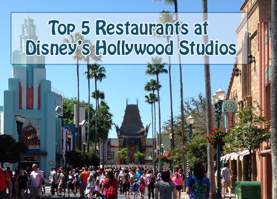 Top 5 Restaurants at Disney's Hollywood Studios