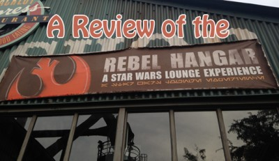 A Review of the Rebel Hangar - A Star Wars Lounge Experience