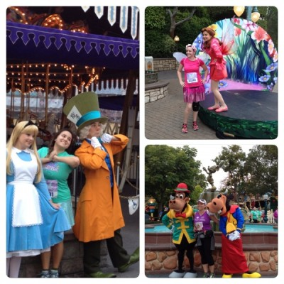 Characters at DL 10 K