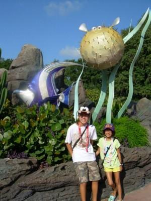Epcot Nemo Statues 2