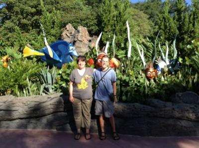 Epcot Nemo Statues
