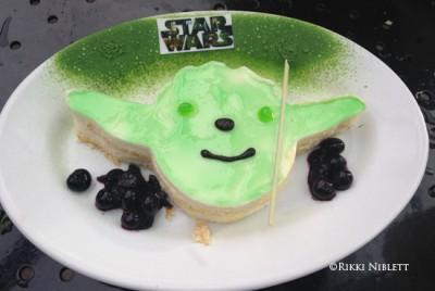 Key Lime Yoda Cake