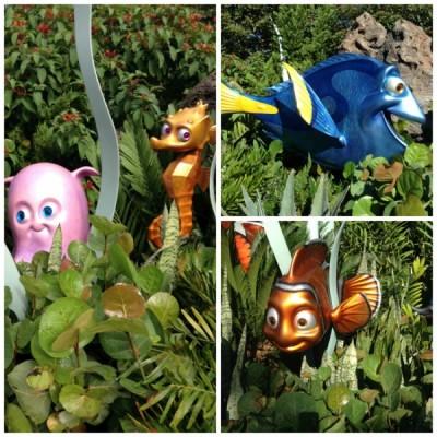 Nemo Epcot Collage