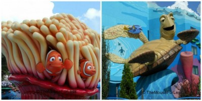 Nemo and Crush