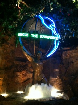 Welcome to the Jungle! A eview of the Rainforest Cafe