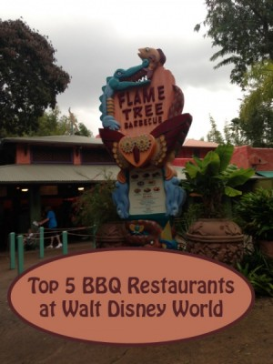 Top 5 BBQ Restaurants at Walt Disney World