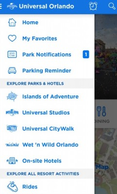 Universal App Menu