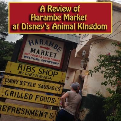 A Review of Harambe Market at Disney's Animal Kingdom