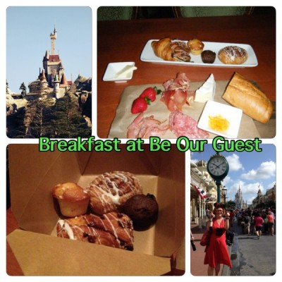 Breakfast at Be Our Guest Restaurant