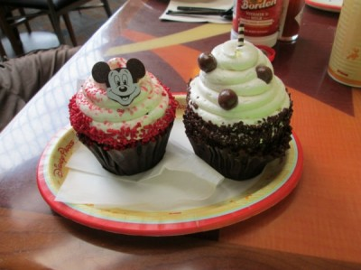 Contemporary Resort Cupcakes