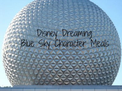 Disney Dining Blue Sky