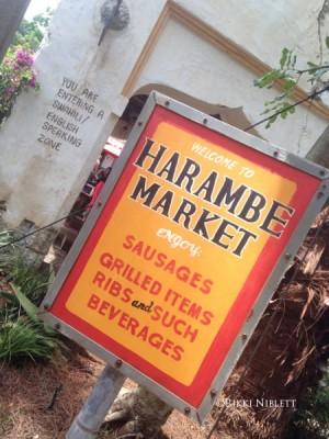 Harambe Market Decor