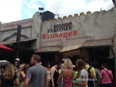 Harambe Market Sausages