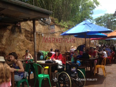 Harambe Market Seating 2