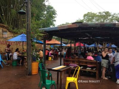 Harambe Market Seating 3
