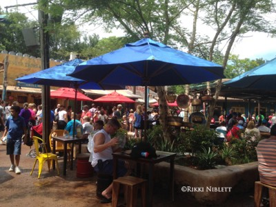 Harambe Market Seating