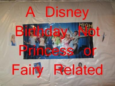 MFL- Disney Bday Not Princess or Fairy Related