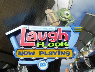 Monster's Inc. Laugh Floor