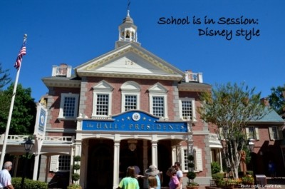 School is in Session Disney Style