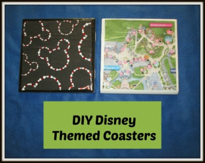 DIY Disney Coaster