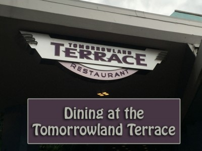 Dining at the Tomorrowland Terrace