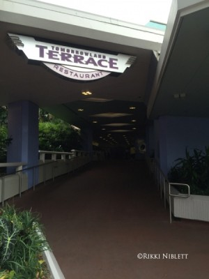 Entrance to Tomorrowland Terrace