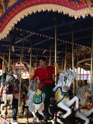 Gasto on Prince Charming Carrousel