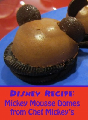 Mickey Mousse Domes