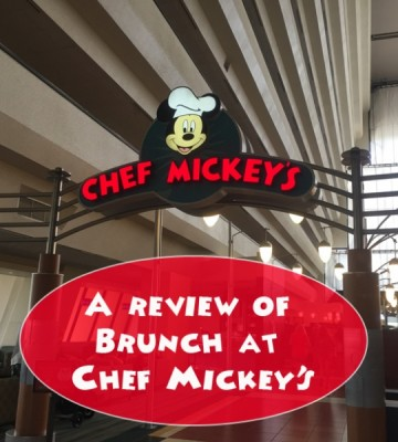 A Review of Brunch at Chef Mickey's