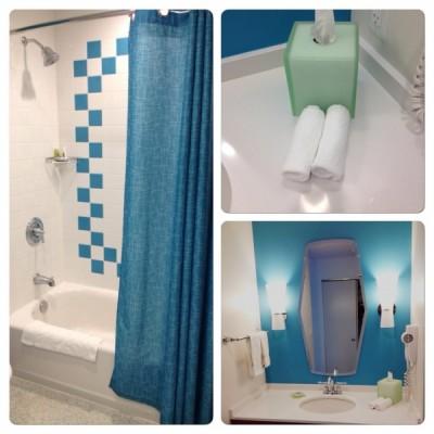 Bath Standard room Cabana Bay Beach Resort