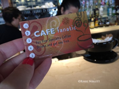 Cove Cafe Rewards Card