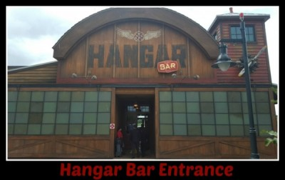 Hangar Bar Entrance