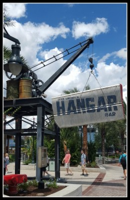 Hangar Bar Sign